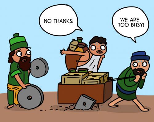 The Customer Experience Cartoon - English version 17