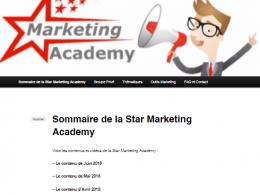 Les vidéos de Juin pour ma formation continue au WebMarketing : la Star Marketing Acacemy 10
