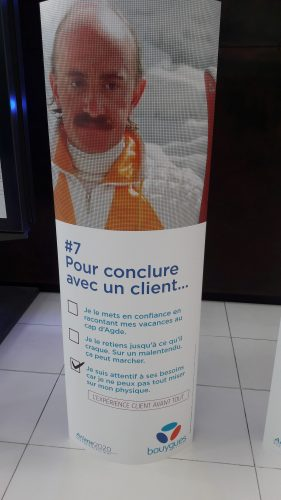 Les 10 commandements du Service Client par Bouygues Telecom 7