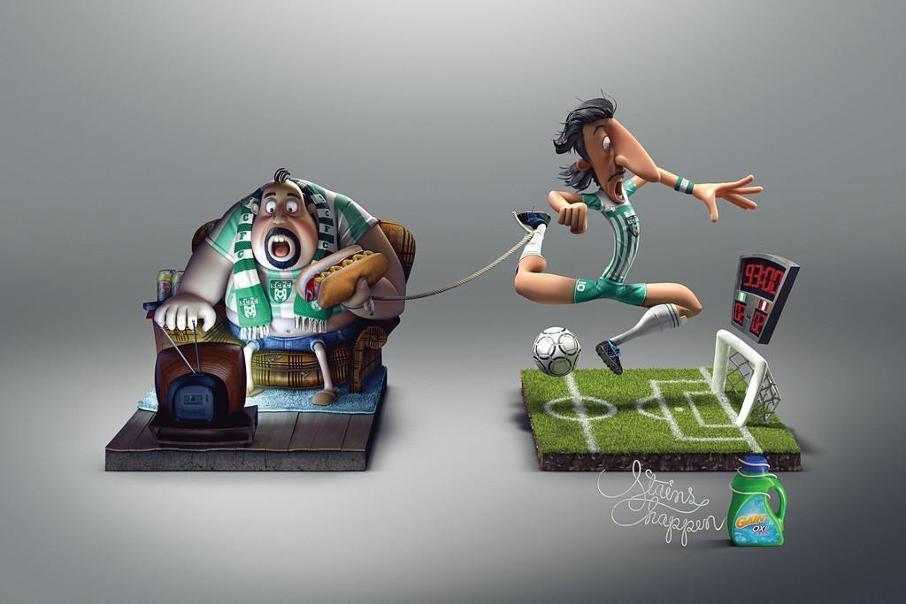 Spécial Coupe du Monde de Football : Les 100 plus belles publicités sur le foot ! 92