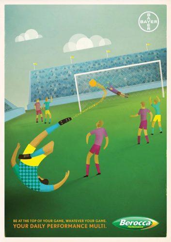 Spécial Coupe du Monde de Football : Les 100 plus belles publicités sur le foot ! 96