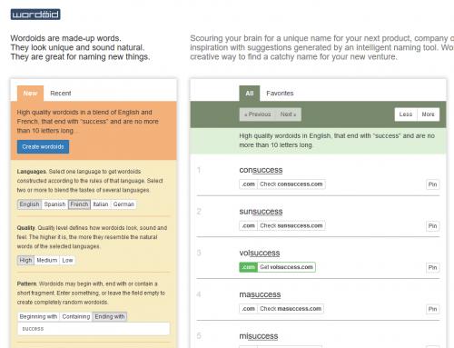 Comment choisir un bon nom de marque, d'entreprise ou de site internet ? 76