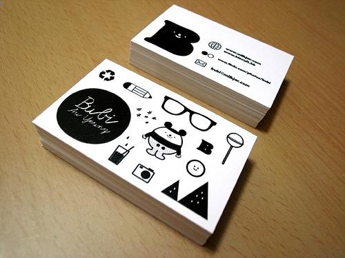 Comment réussir ses cartes de visite en 8 points + 170 idées à prendre en exemple ! 114