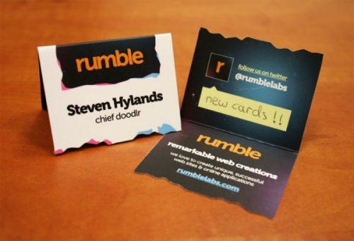 Comment réussir ses cartes de visite en 8 points + 170 idées à prendre en exemple ! 80