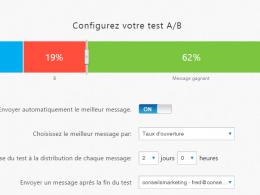 Doublez le taux d'ouverture de vos emails : faites de l'AB testing en 2 minutes chrono ! 8