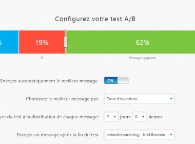Doublez le taux d'ouverture de vos emails : faites de l'AB testing en 2 minutes chrono ! 70