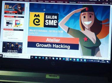 Découvrez ma mini formation au Growth Hacking dispensée lors du Salon SME 111