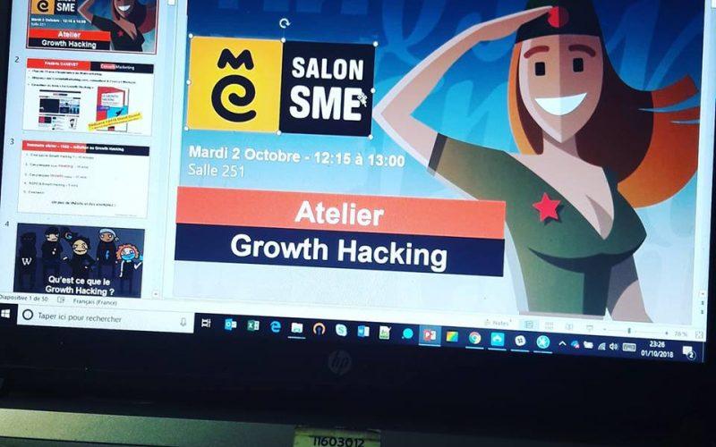 Découvrez ma mini formation au Growth Hacking dispensée lors du Salon SME 5