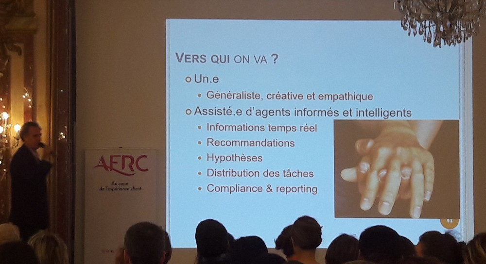Intelligence Artificielle et Relation Client, quels seront les impacts ? La vision de l'AFRC 13