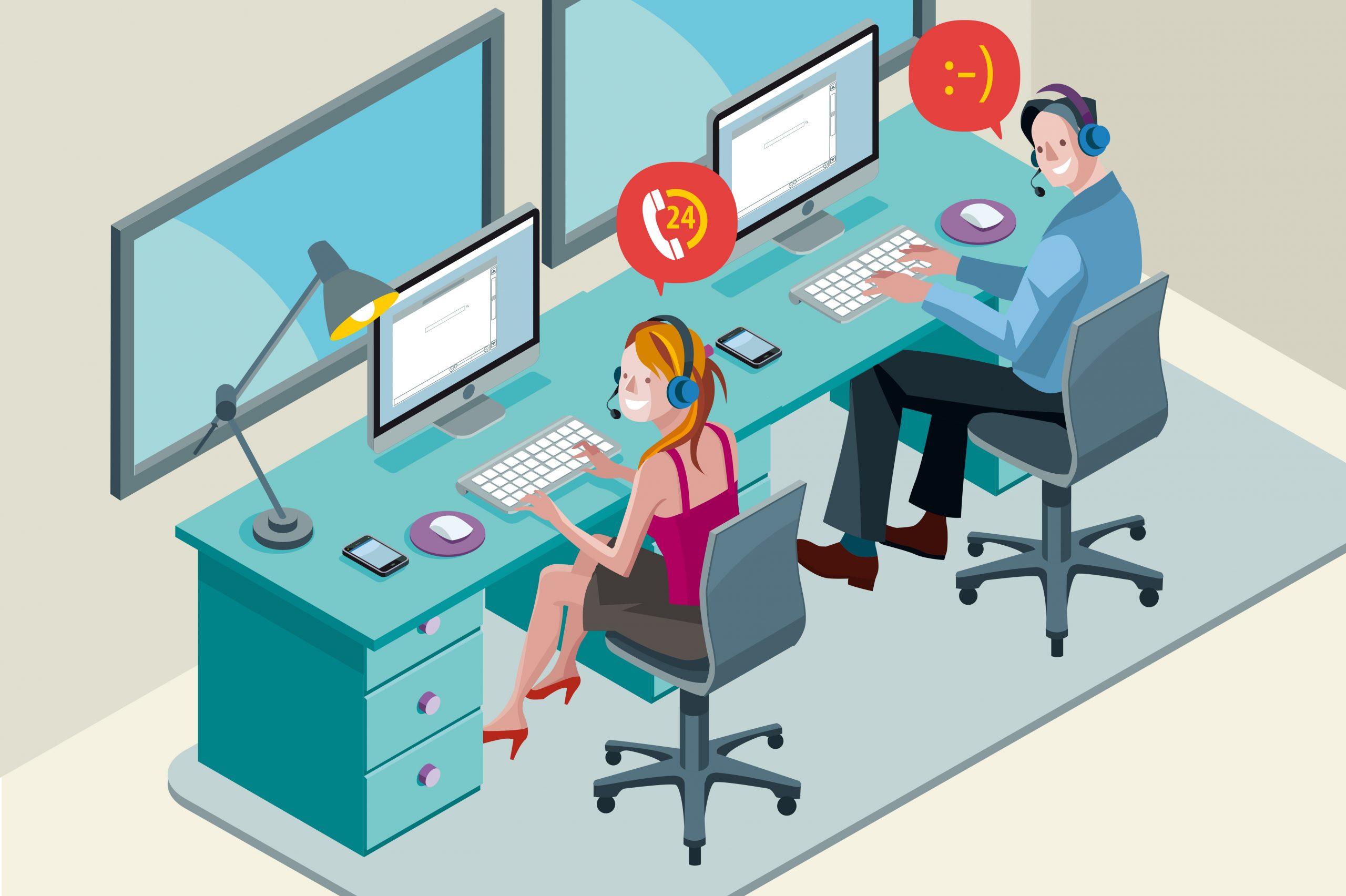 Comment améliorer l'efficacité de votre Centre de Contacts ? 3 Conseils simples ! 1