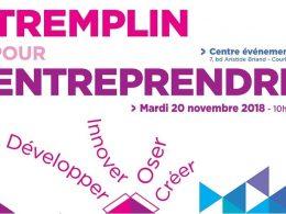Vous êtes créateur d'entreprise ? RDV le 20/11 au Tremplin pour entreprendre à Courbevoie ! 8