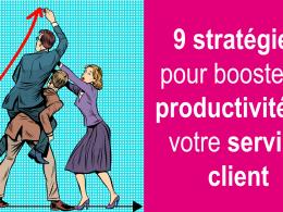RDV mardi 11 décembre - Web séminaire 9 stratégies pour Booster la productivité de votre service client 24