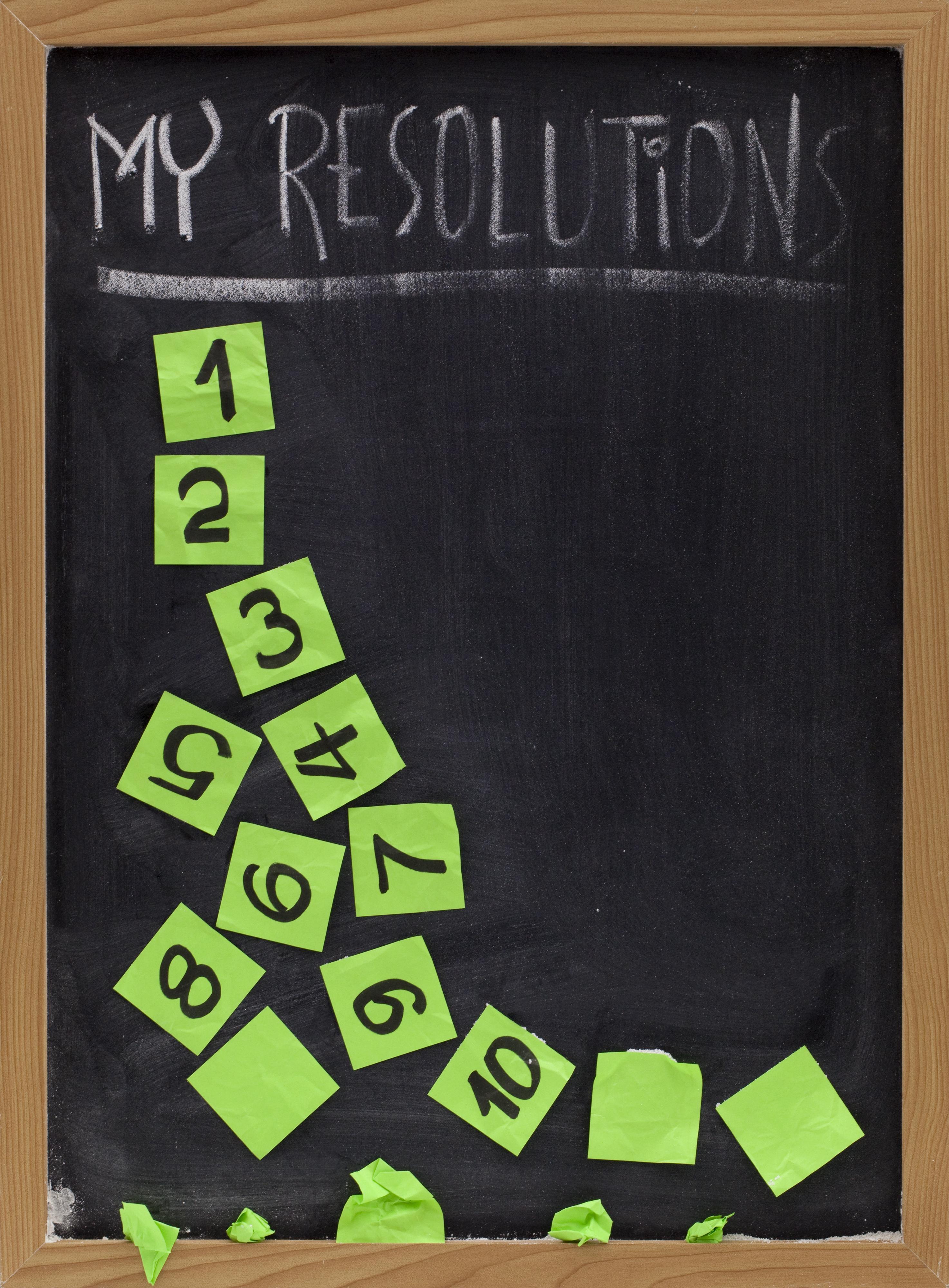 23 bonnes résolutions pour réussir l'année 2020 ! 4