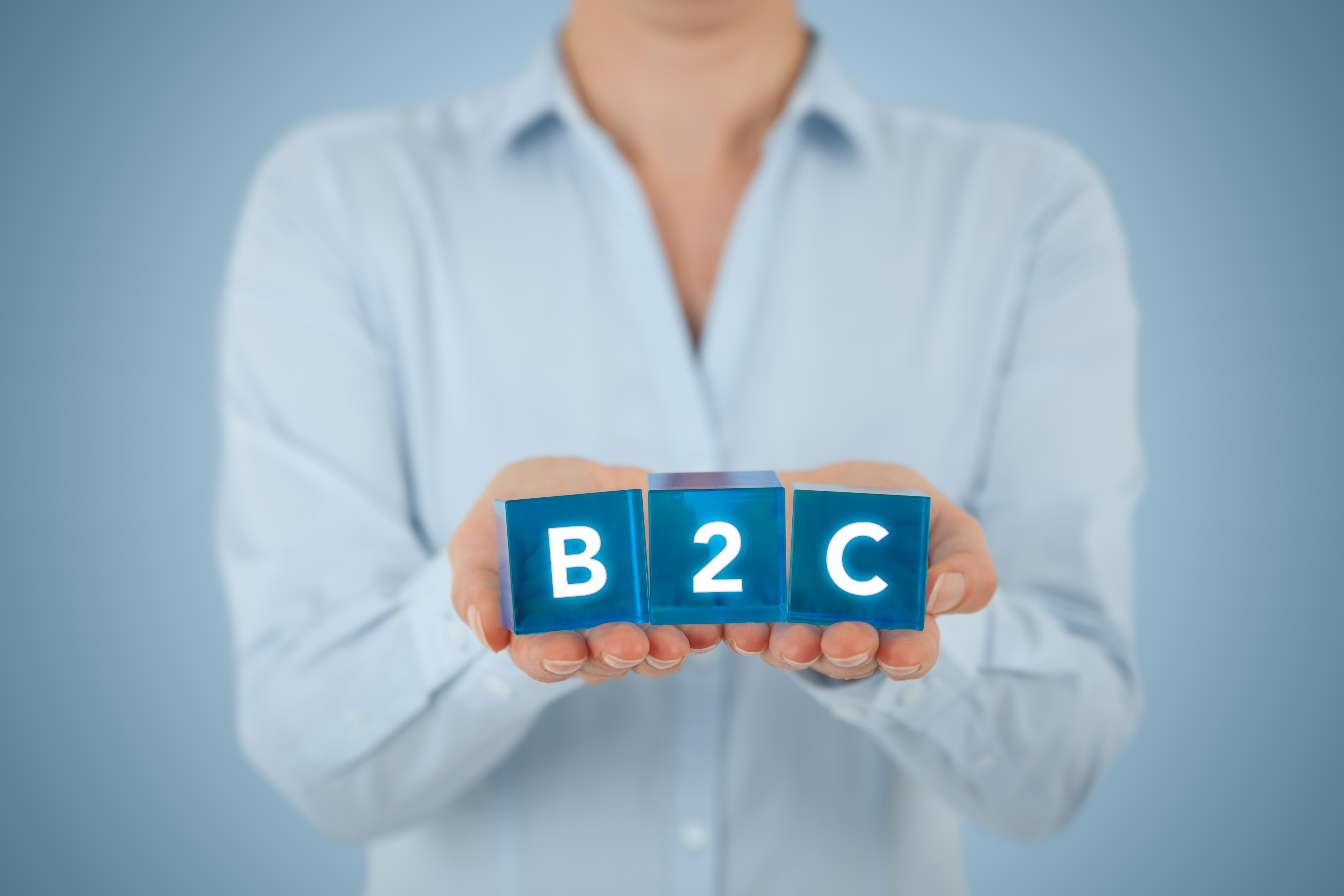 Définition du B2C (vente aux consommateurs par une entreprise) 2