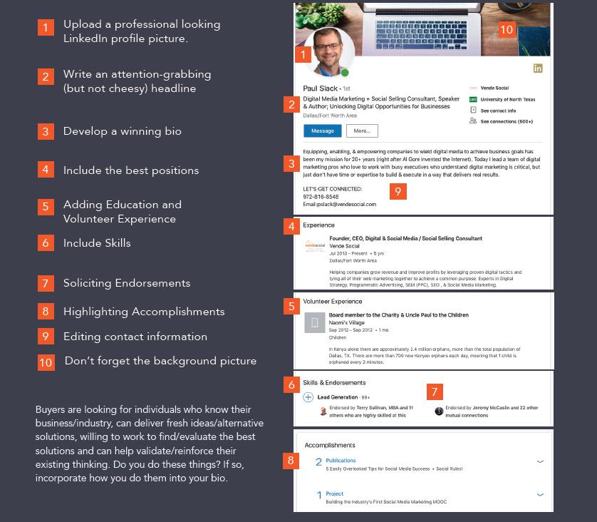 Les 7 erreurs à ne surtout pas commettre dans votre profil Linkedin ! 13