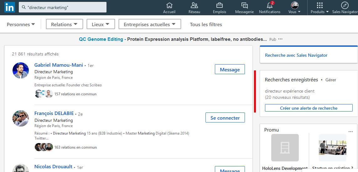 Mini Formation Linkedin : 29 astuces pour prospecter sur Linkedin ! 47