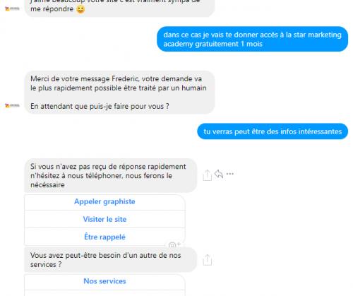 Les erreurs à ne surtout pas faire avec un Chatbot sur Facebook Messenger ! 18