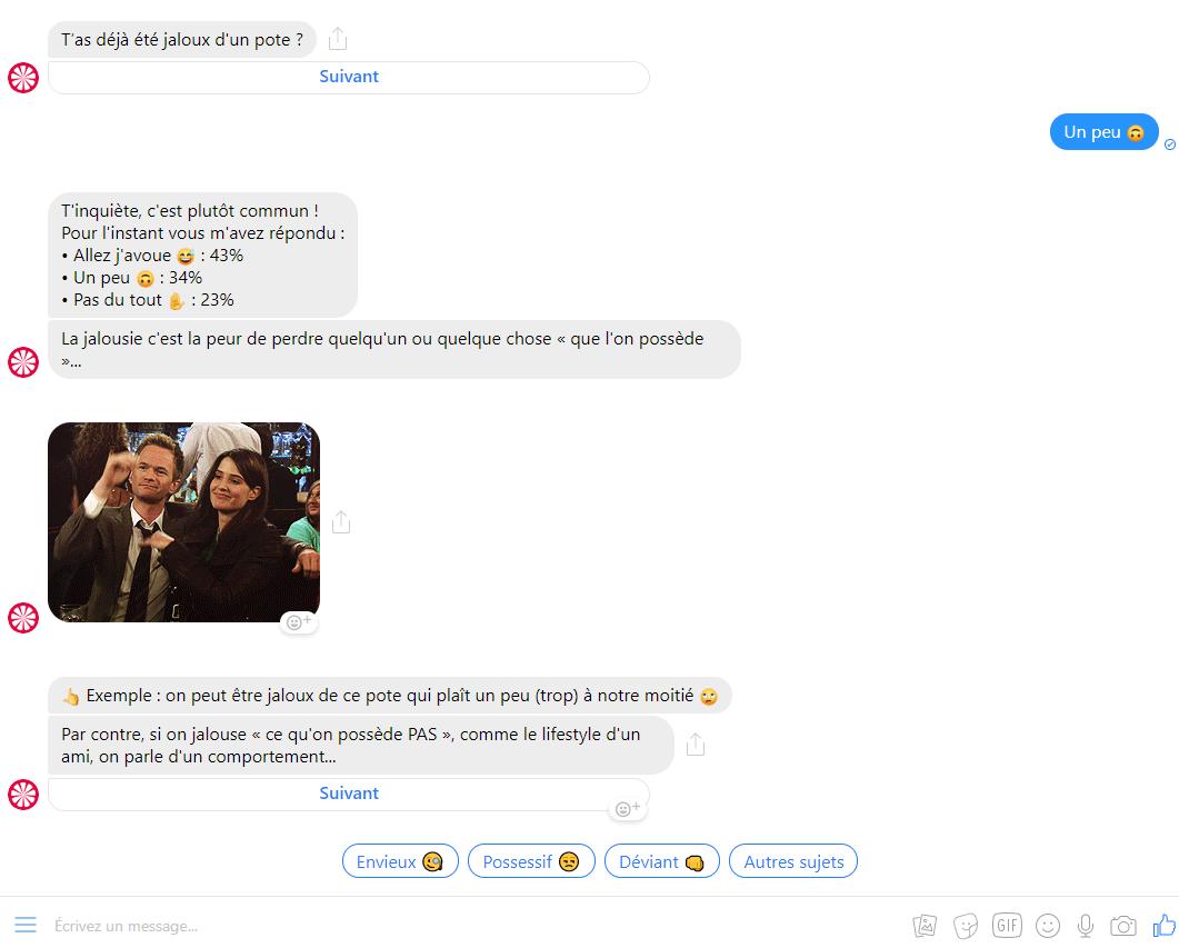 Les erreurs à ne surtout pas faire avec un Chatbot sur Facebook Messenger ! 14