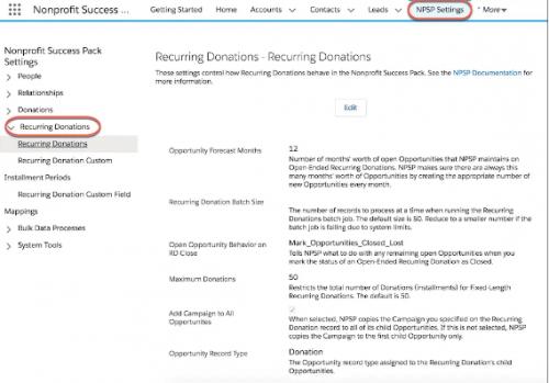 Quel CRM pour une Association ? Salesforce NPSP est-il un bon plan ? 13