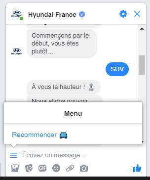 Les erreurs à ne surtout pas faire avec un Chatbot sur Facebook Messenger ! 20