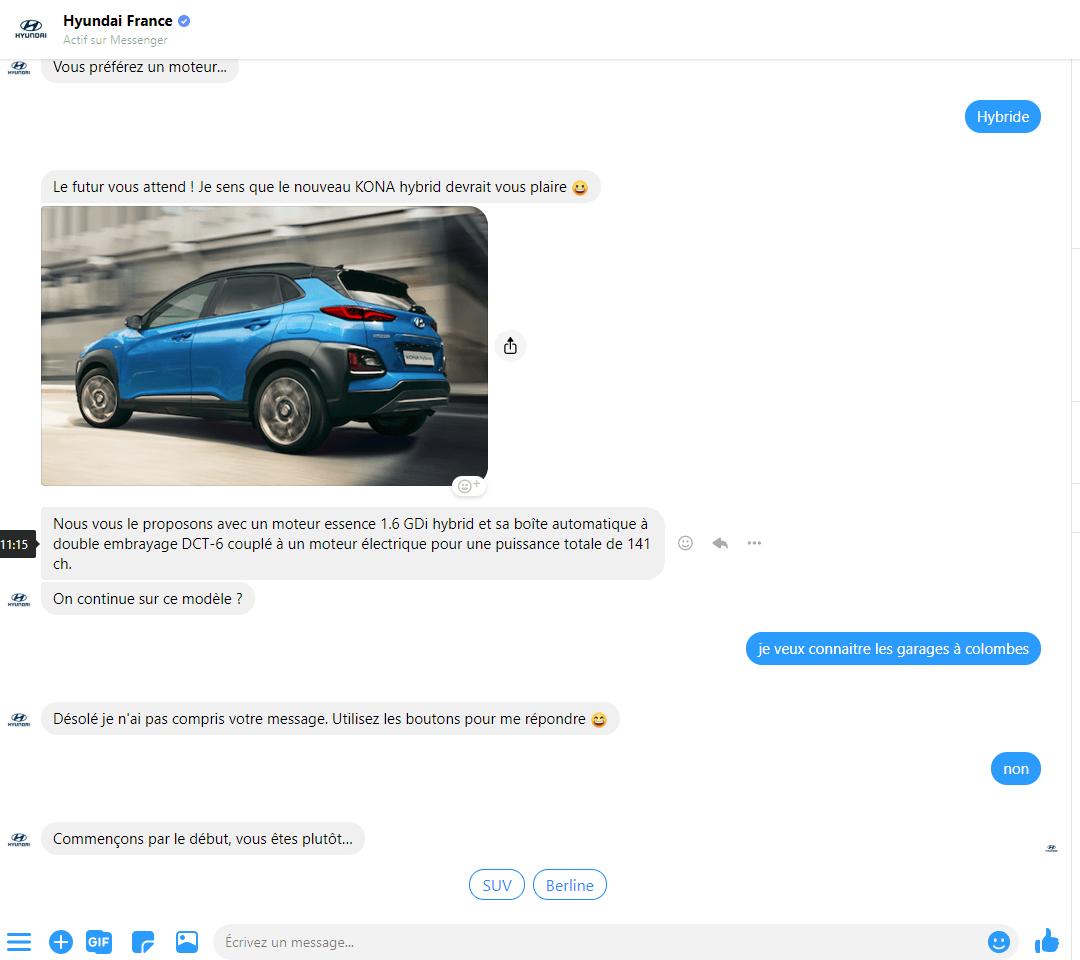 Les erreurs à ne surtout pas faire avec un Chatbot sur Facebook Messenger ! 17
