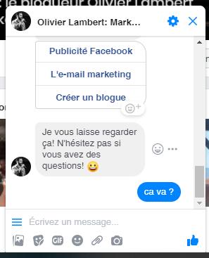 Les erreurs à ne surtout pas faire avec un Chatbot sur Facebook Messenger ! 12