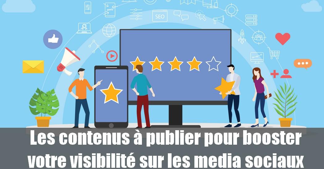 8 stratégies de content marketing à appliquer sur les media sociaux pour booster sa visibilité ! 1