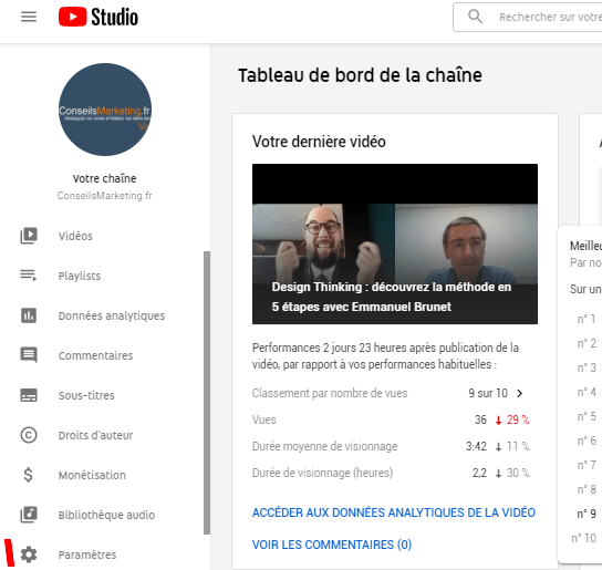 Growth Hacking Youtube : les 9 étapes pour augmenter ses vues sur Youtube ! 7