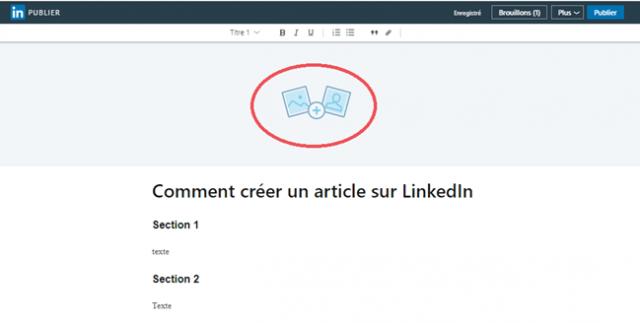 comment publier un article sur linkedin articles