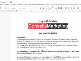 Comment et pourquoi créer une ligne éditoriale ? 11