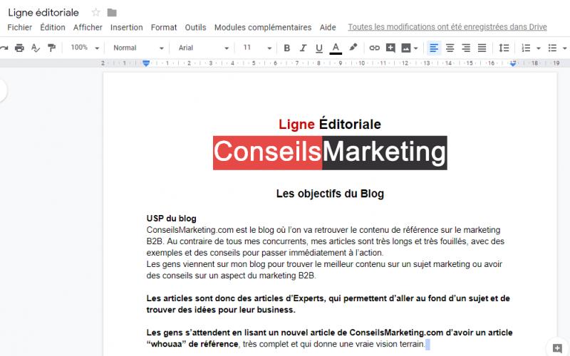 Comment et pourquoi créer une ligne éditoriale ? 3