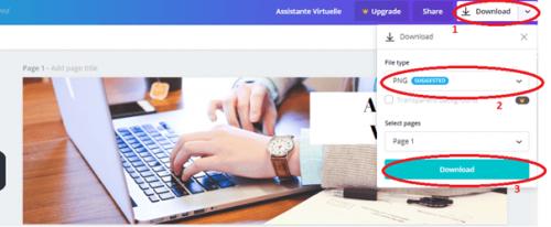 Comment créer une bannière pour votre profil LinkedIn avec Canva ? 7