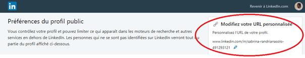 Comment personnaliser l'URL de son profil LinkedIn ? 4
