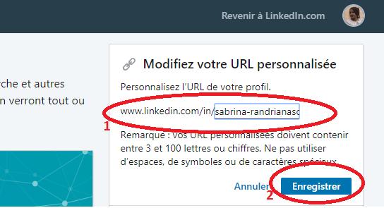 Comment personnaliser l'URL de son profil LinkedIn ? 5
