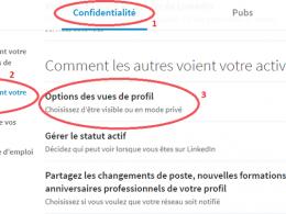 Comment regarder des profils Linkedin de façon anonyme ? 25