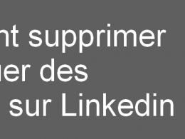 supprimer ou bloquer des contacts linkedin