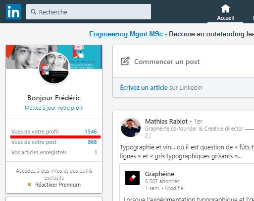 Comment regarder des profils Linkedin de façon anonyme ? 3
