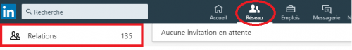 exporter ses contacts linkedin 1