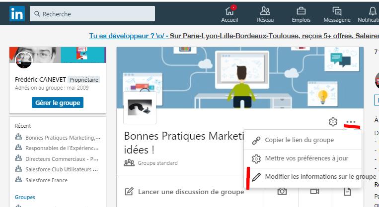 Comment créer un groupe LinkedIn ? 5