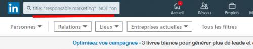 Comment optimiser ses recherches sur LinkedIn avec les opérateurs booléens ? 10