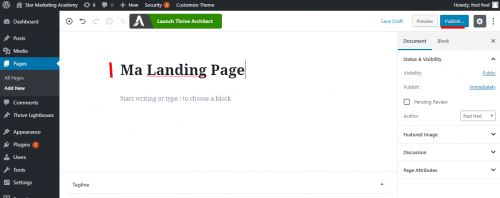 Mini formation : créez une Landing Page avec Thrive Themes + 3 exemples de landing pages à télécharger ! 17