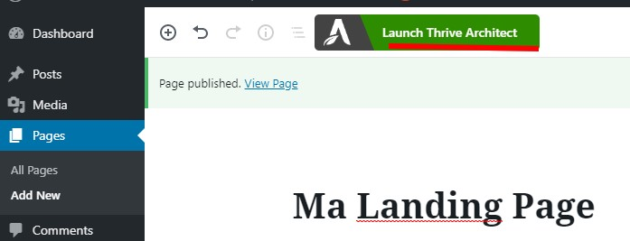 Mini formation : créez une Landing Page avec Thrive Themes + 3 exemples de landing pages à télécharger ! 18