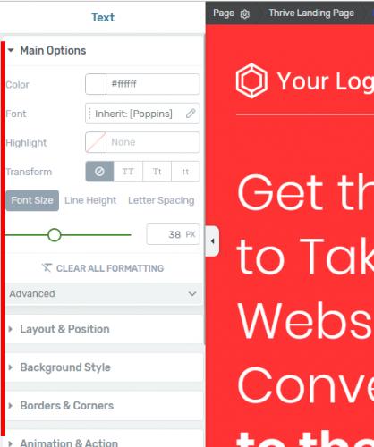 Mini formation : créez une Landing Page avec Thrive Themes + 3 exemples de landing pages à télécharger ! 25