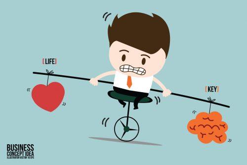 5 principes de vie pour être heureux au travail et dans sa vie privée. 5