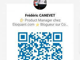 Utilisez l'App Linkedin et le QR code Linkedin pour scanner vos contacts lors d'un salon, d'une soirée networking... 8