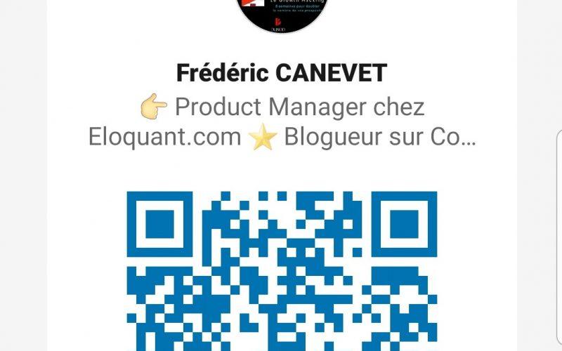 Utilisez l'App Linkedin et le QR code Linkedin pour scanner vos contacts lors d'un salon, d'une soirée networking... 4