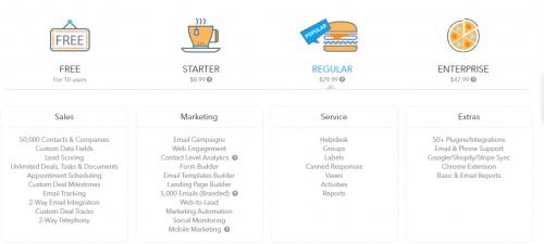 7 CRM gratuits pour les PME 5