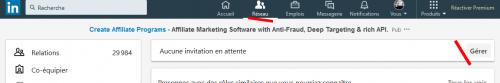 Comment continuer à avoir des contacts même si votre profil LinkedIn a atteint la limite des 30 000 contacts ? 5