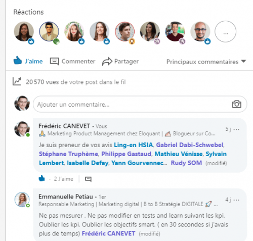 5 astuces simples de Social Selling sur Linkedin - Interview Benoit Lacoste 9