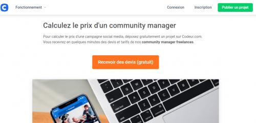 Quel est le tarif d'un Community Manager ? 6 exemples de tarifs pour un community manager de l'agence au Freelance ! 14